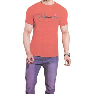 main's t-shirt red color